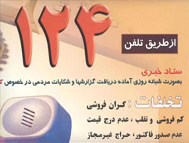 ثبت بیش از 1600 مورد شکایت مردمی از واحدهای صنفی در استان سمنان